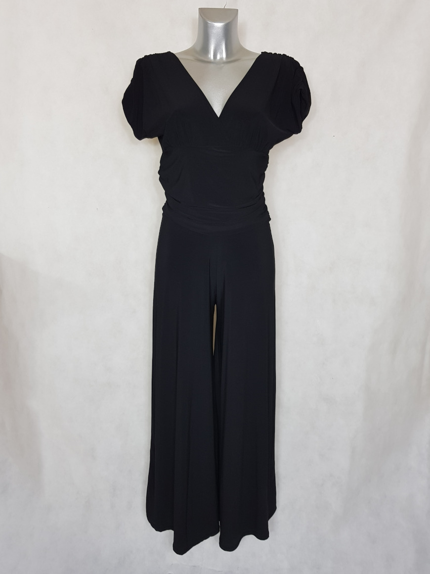 combi-pantalon-femme-large-uni-noir-col-v1