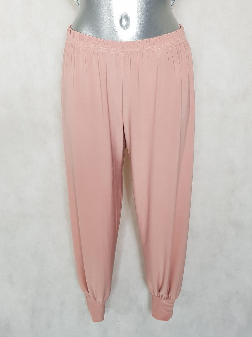 pantalon-bouffant-femme-rose-taille-elastiquee