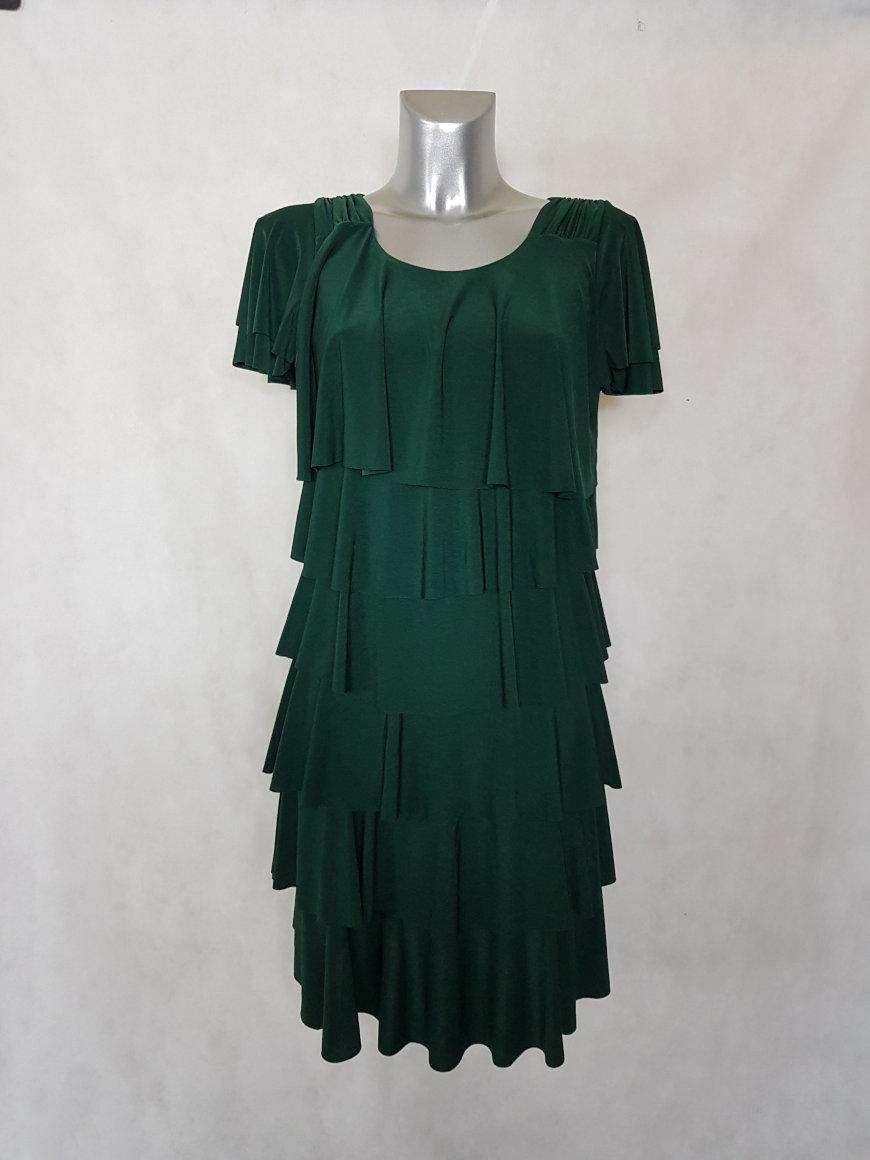 robe-femme-fluide-verte-a-volants-superposes