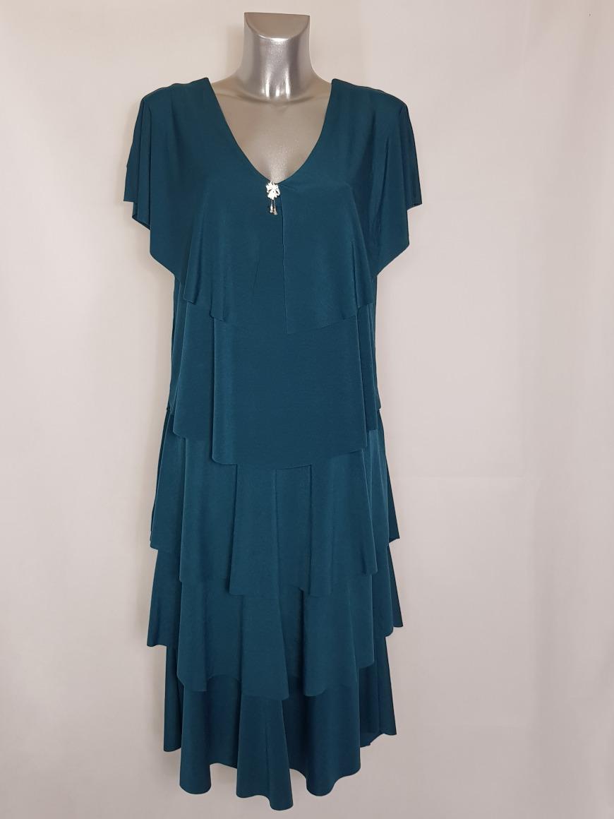 robe-mi-longue-a-volants-femme-ronde-tendance1