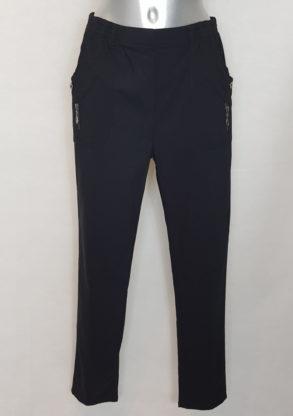 Pantalon noir chic moderne femme grande taille