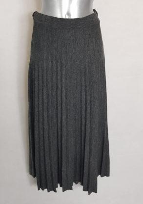 Jupe pull longue plissée tendance femme ronde