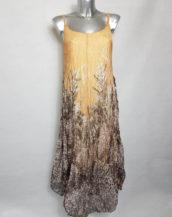 Robe longue d'été colorée femme grande taille