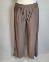 Pantalon large stylé femme ronde taille élastique
